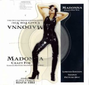 CRAZY FOR YOU (91) -  UK SHAPED  PICTURE DISC (W0008P)